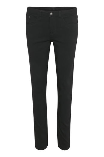 Twill pants black